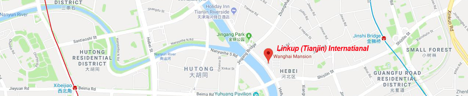 linkup (tianjin) international address 1600 328
