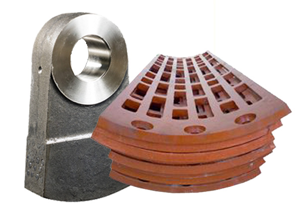 linkup hammer crusher hammer grate wear parts high manganense